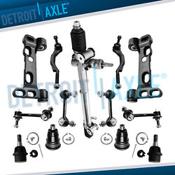 13pc Complete Power Steering Rack And Pinion Suspension Kit For Chevy Gmc