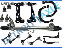 15pc Complete Power Steering Rack And Pinion Suspension Kit For Chevy Gmc