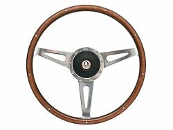 1968 - 1978 Ford Mustang Shelby Style Steering Wheel Kit   Gt-500 Emblem