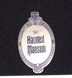 Le Disney Pin✿florida Project Liberty Square Haunted Mansion Plaque Marquee Oval