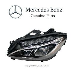 New For Mercedes W205 C300 C43 C63 Amg S Driver Left Headlight Assie Dynamic Led