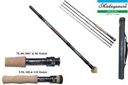Shakespeare Sigma Supra Fly Rod10 Modelstrout Salmon Pike Fly Rodnew 2017