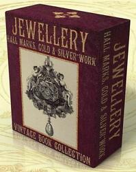 Jewellery Hall Marks Gold And Silver Work 89 Vintage Books Catalogs On Dvd Jewelry
