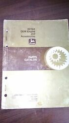 John Deere 4219d Oem Engine And Accessories Parts Catalog