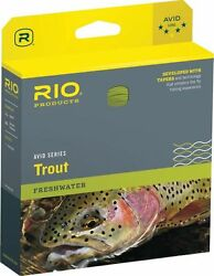Rio New Avid 350gr Grain 24and039 Foot Sink Tip Fly Line For 9 And 10 Weight Rods