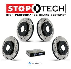 For Front & Rear StopTech Drilled Brake Rotors KIT For Nissan Maxima 2004-2005
