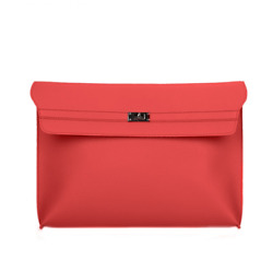 Women Clutch Leather Large Mid Envelope Casual Party Handbags Day Clutches Bags $25.43