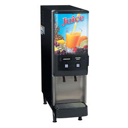 Bunn 37900.0025 2 Flavor Frozen Juice System W/ Push And Portion Control