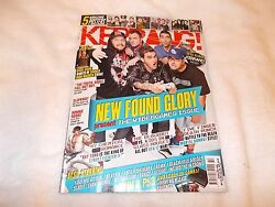 Kerrang Music Magazine Issue 1384 October 22nd 2011 New Found Glory Blackout
