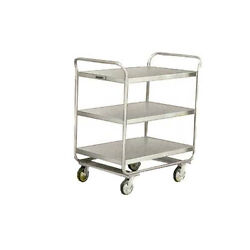 Lakeside 211 27wx17-1/2dx35-3/4h Stainless Steel Utility Cart
