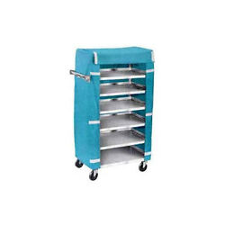Lakeside 437 18-3/8wx30-3/4lx46h Stainless Steel Tray Delivery Cart