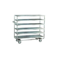 Lakeside 762 21-1/2wx54-1/2lx54-5/8h Stainless Steel Open Tray Truck