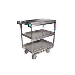 Lakeside 730 22-3/8x38-5/8x37-1/2 Stainless Steel Utility Cart