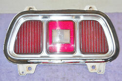 1973 Mustang Mach 1 Fastback Coupe Convertible Grande Orig Tail Light Assembly