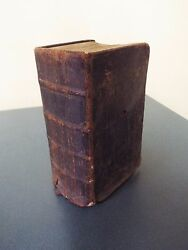1819 American Bible Society- N Y Mass Bible Society On Front Cover - 7th Ed