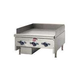 Wells Hdtg-4830g-qs 48 Quickship Thermostatic Griddle W/ 3/4 Plate