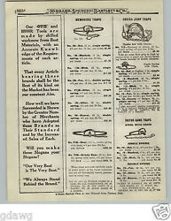 1919 Paper Ad Newhouse 6 6 Grizzly Bear Iron Leg Hold Trap 16 5 5