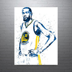Kevin Durant Golden State Warriors Poster Free Us Shipping