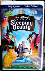 Sleeping Beauty / Extremely Rare/ Masterpiece Collection /vhs Movie/1997/ Nº9511