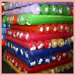 100 Yards Polyester Fabric 60 Poly Poplin Tablecloth Table Overlay Draping