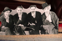 The Marx Brothers Comedy Team Tabletop Display Standee 10 3/4 Wide