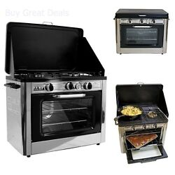 Camp Chef Camping Outdoor Oven With 2 Burner Camping Stove - New And Sealed