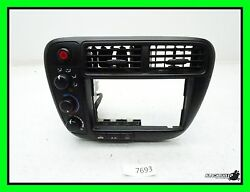 99-00 Honda Civic Climate Control & Bezel - Dash Vents - Air Heat Switches