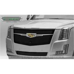 T-rex Black Upper Class Main Grille W/ Brushed Trim For Cadillac Escalade 15