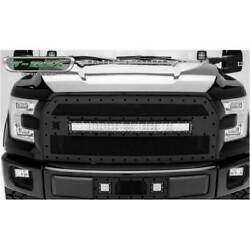 T-rex Blacked Out Torch 30 Curved Led Light Bar Main Grille For Ford F-150 16