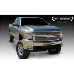 T-rex Polished Billet 2pc Grille Overlay For Chevrolet Silverado 2500/3500 07-10