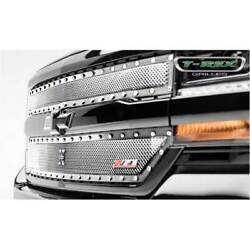 T-rex Stainless X-metal Main 2pc Grille Overlay For Chevy Silverado 1500 2016