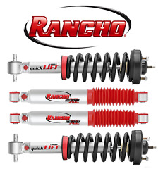For Avalanche Suburban 4wd Front 2 And Rear 3/4 Lift Shocks Struts Rs5000 Rancho