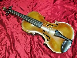 Vintage Jacobus Stainer 4/4 Violin, Pre-1900, Ex. Tone, Made In Germany