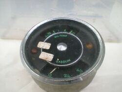Porsche 356 A Combination Gauge With Numbered Scale