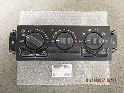 99 - 02 CHEVY BLAZER AC HEATER CLIMATE TEMPERATURE CONTROL OEM NEW PN 15756179