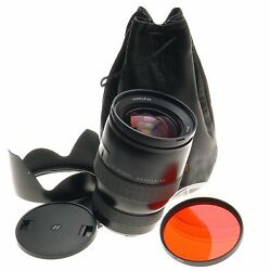Hasselblad Hc 13.5-4.5/50-110mm Camera Zoom Lens Red Filter Hood Caps Case Mint