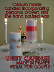 Magical Wedding Unity Candles Handfasting Cord and Jumping the Broom HAND MADE $75.00