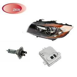 For BMW E90 Passenger Right Headlight Bi-Xenon Adaptive w Control Units