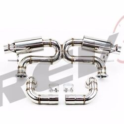 Rev9 Fit Audi R8 4.2l V8 08-15 Xpipe 2.75 Stainless Catback Exhaust Performance