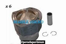 Porsche 911 S Piston And Cylinder 2.2 L 84.00 Mm 9.8 1 {6} Mahle Newns