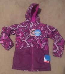 NWT Columbia Girls Outgrown Ready Set Snow Thermal Coil Jacket Sz: M