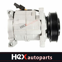 A/c Compressor Fits Dodge Caravan Town And Country Voyager 10s20h 77374