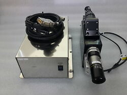 Sony Xc-hr57 Camera And Optem Hr10x/0.45 Lens And Sigma Koki Sgsp-obl-3 Module