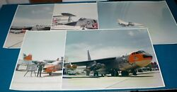 5 Rare 46th Test Wing Eglin Afb Large 20 X 16 Real Vintage Photos @ Planes