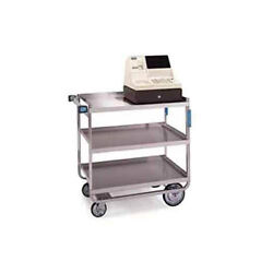 Lakeside 522 19-3/8x32-5/8x35-1/2 Stainless Steel Welded Utility Cart