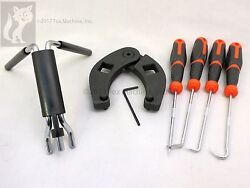 Skid Steer-compact Tractor Loader Cylinder Tool Kit, Gland Wrench Seal Installer