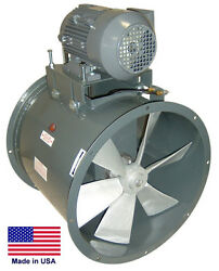 TUBE AXIAL DUCT FAN - Belt Drive - 18