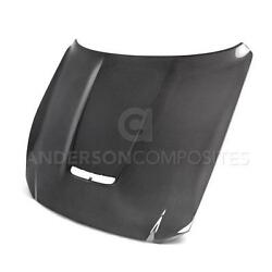 Mustang/shelby Gt350 15-20 Ford Anderson Composites Hood Ac-hd15fdmu350-oe-ds