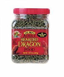 Zoo Med 20-Ounce Natural Bearded Dragon Food New