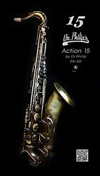 Dr.philip's Action 15 Unlacquered Brass Tenor Saxophone